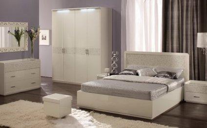 Белые спальни