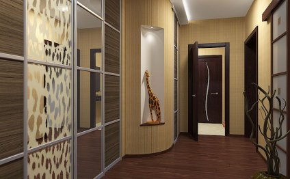 Дизайн шкафа-купе 40 см