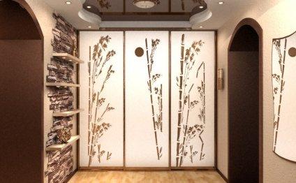 Дизайн прихожей и шкафа в