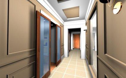 Интерьер коридора — коллекция