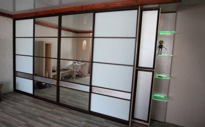 Проект дизайн шкафа купе