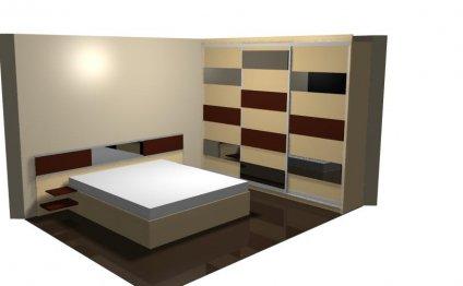 роскошные кровати и гардеробы